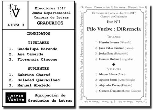 boletas FV y LV 2017